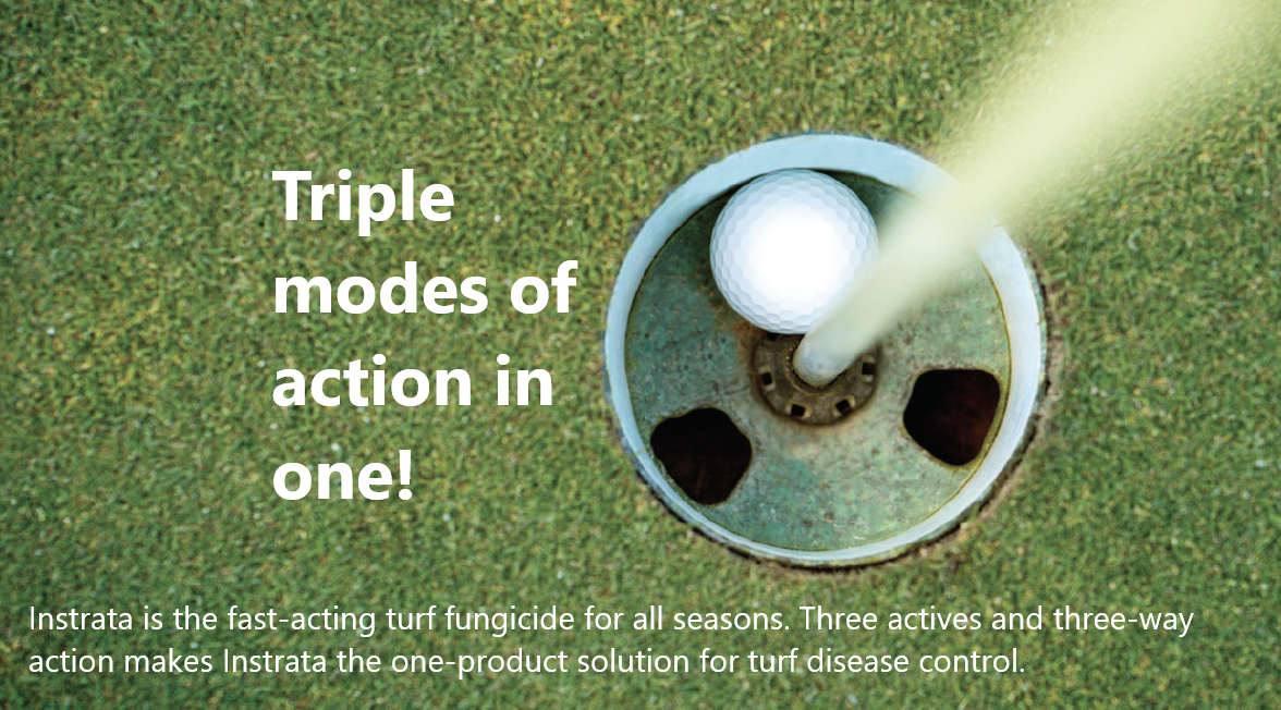 Triple modes of action in one!